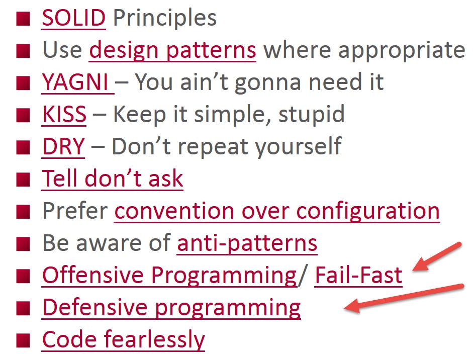 Coding-principles-defensive-vs-offensive