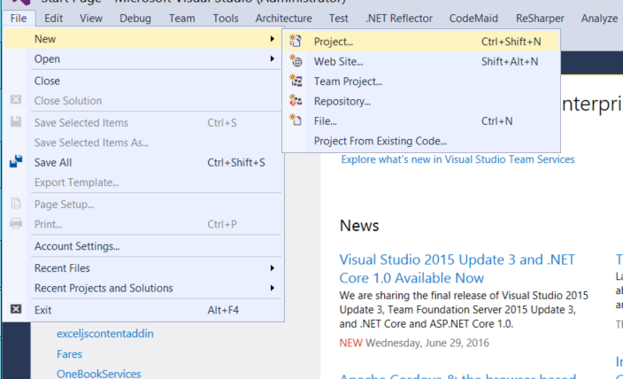 visual-studio-2015-create-new-project