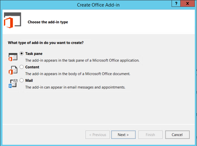 visual-studio-create-office-addin-select-options