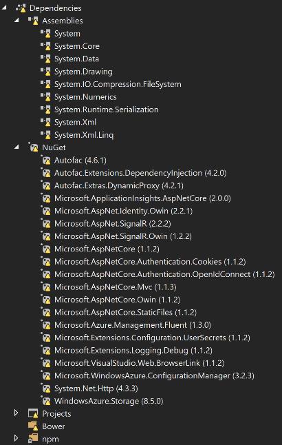 dependencies-missing